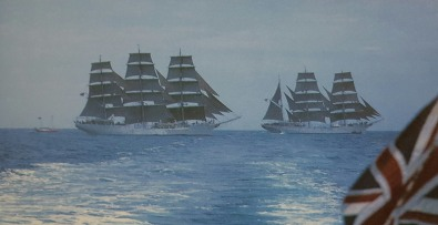 "Photo credit: from ""The Romance of Tall Ships,"" by Jonathan Eastland"